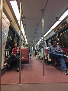 DC Metro subway car