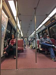 DC Metro subway car