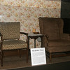 Edith and Archie Bunker's chairs from All in the Family.