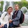 Daniel and Melissa at the Hirschorn Sculpture Garden