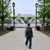 Entering the Hirschorn Sculpture Garden