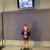 Reporting. At the Newseum