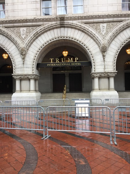 Trump Hotel in DC