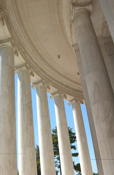 Ionic Columns, Jefferson Memorial