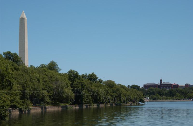 Washington Monument across the Tidal Basin