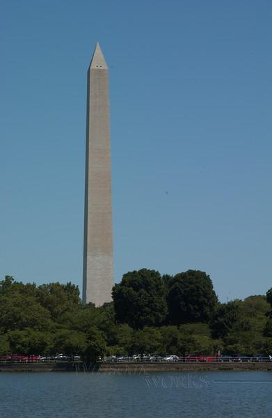Washington Monument across the Lake