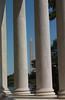 Washington Monument through Jefferson Memorial Columns