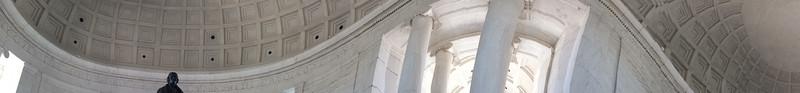 Interior of Jefferson Memorial