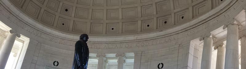Jefferson Memorial Interior Panorama
