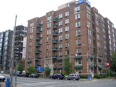 A business trip to Washington DC and my hotel for 3 days the  Comfort Inn on 13th street
