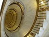 Spiral staircase at the US Supreme Court