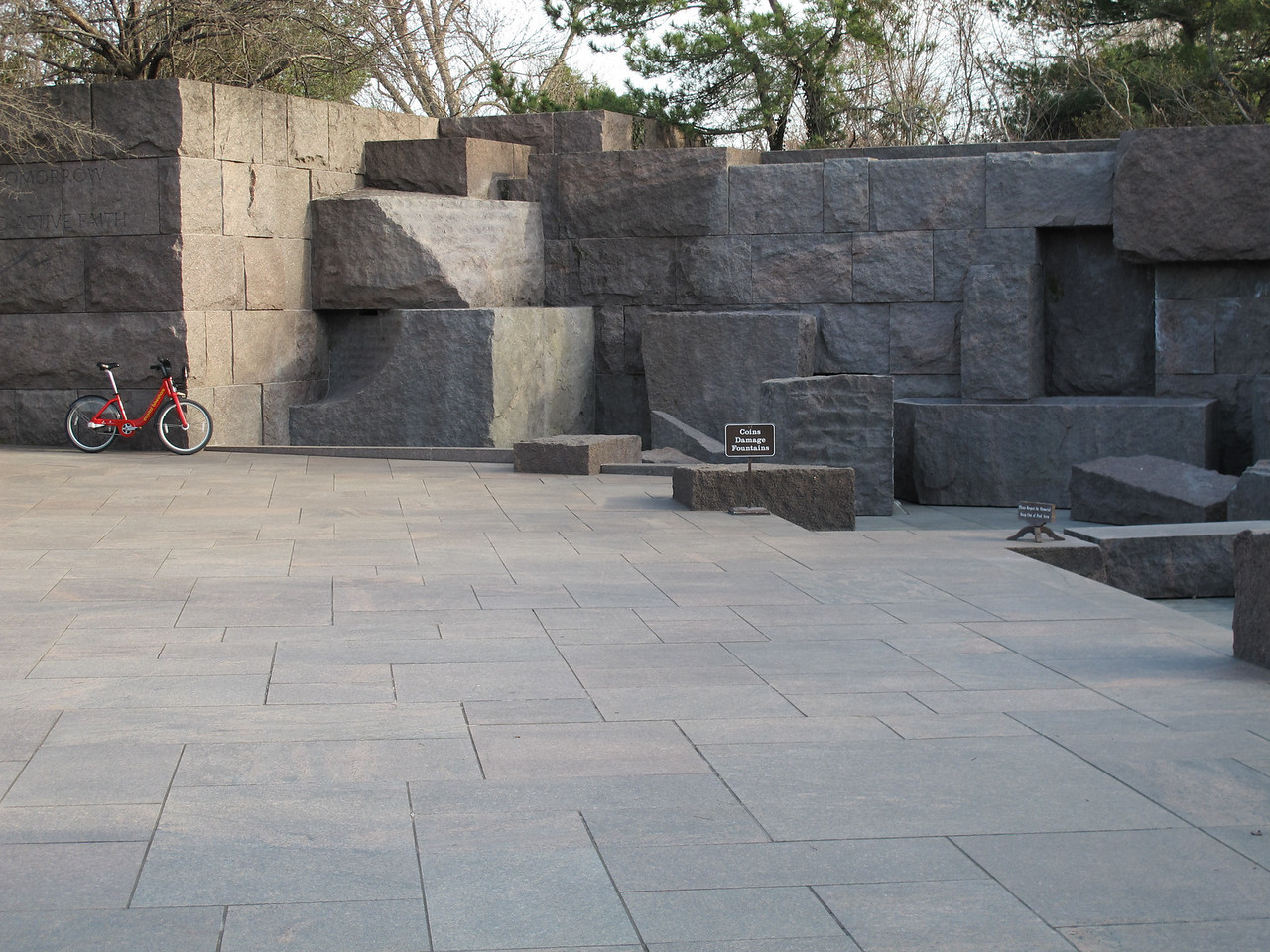 Teddy Roosevelt memorial.