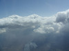 clouds seen while flying to Washington DC
