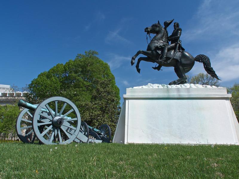 Andrew Jackson Statue in Lafayette Park