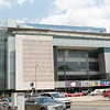 The front of the Newseum Museum.