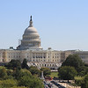 View of the Capitol from the observation deck at the Newseum on Pennsylvania Ave.