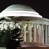 The Jefferson Memorial.  I thought it was pretty with the shadows from the trees.