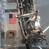 A small portion of the broadcast antenna from the World Trade Center.