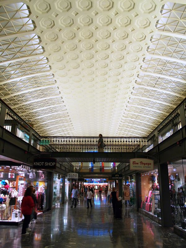 Union Station, just part of the two story shopping mall in the complex.