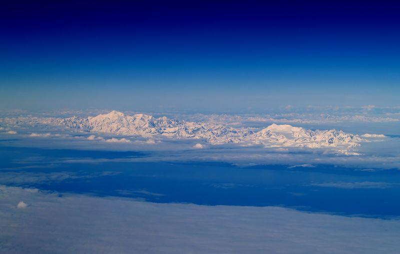 Friendship Mountains, Canada ?? Near Sitka, Alaska as seen from 37,000 feet.