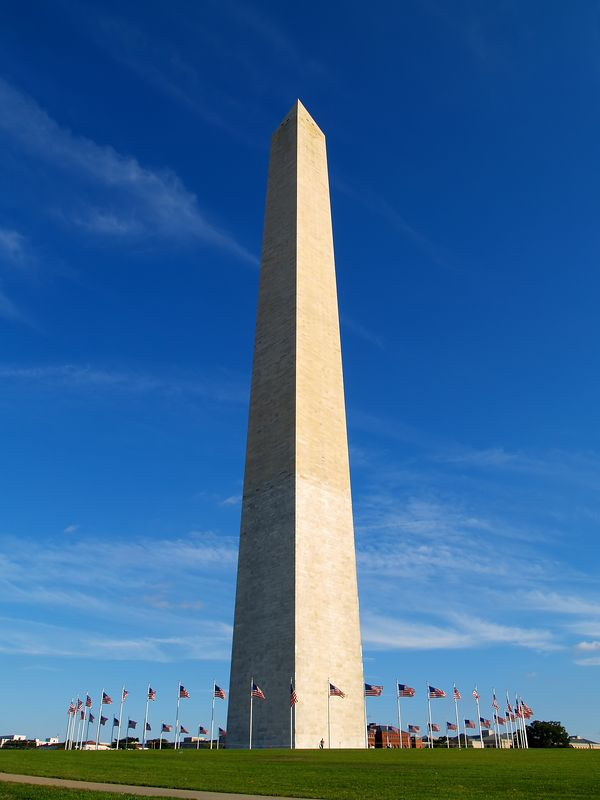 Washington Monument - Late Afternoon