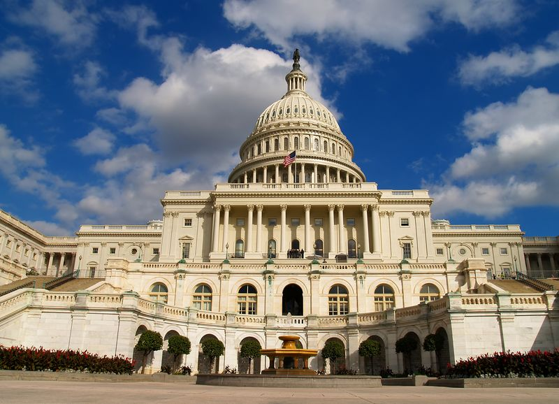 "U.S. Capital, West Front. From what I was able to gather, all sides are the ""front"", you just have to specify which front by North,South, East, or West."