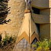 TeePee outside the National Museum of American Indians - Smithsonian