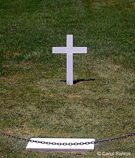 Arlington National Cemetery, Bobbie Kennedy's Gravemark