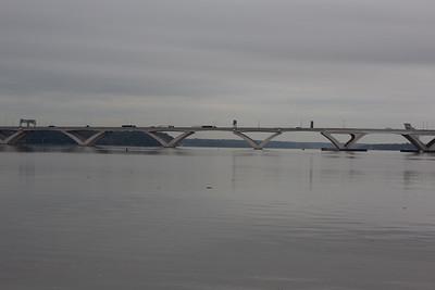 The Woodrow Wilson Bridge. Alexandria, VA.
