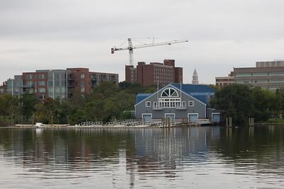 Dee Campbell Rowing Center. Alexandria, VA.