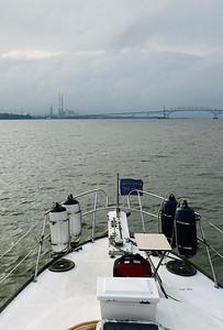 Approaching 301 Bridge