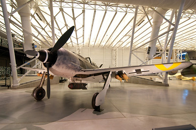 Focke Wulf Fw-190, perhaps Germany's best piston engined fighter of WWII