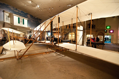 "The 1903 Wright Flyer. The first successful manned powered aircraft. This is the ""Crown Jewel"" of the Air and Space Museum collection."