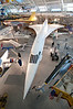 Anglo-French Concorde, supersonic passenger jet. These are all retired now and relegated to museums.