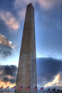 The Washington Monument from my back