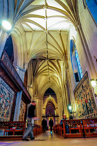 Interior of the National Cathedral