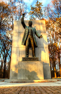 Theodore Roosevelt Island, Statue (c) 2013 Karin Markert, all rights reserved.