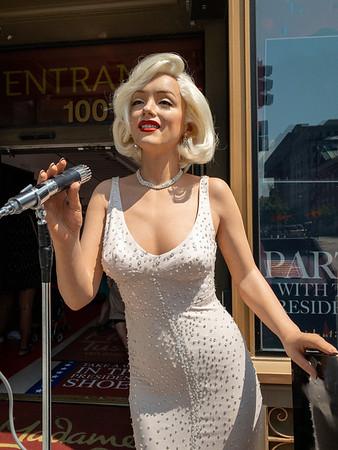 Marilyn Monroe at Mada Tussauds