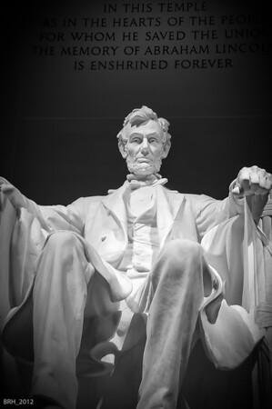 Lincoln Memorial Nov 2012