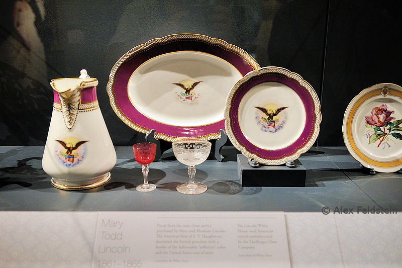 Mary Lincoln's dinnerware<br /> American History Museum