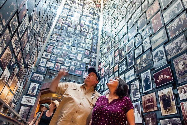 Wall of Faces Visitors