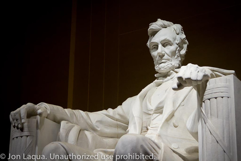 Moonlight Monument Tour. Lincoln Memorial.
