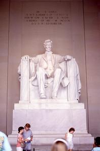 Lincoln Memorial  Washington, D C