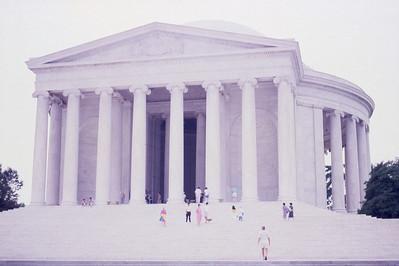 Thomas Jefferson Memorial  Washington, D C