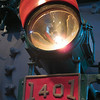 Headlamp, Southern Railways steam locomotive no. 1401, a 1926 ALCo Ps-4. (Smithsonian, National Museum of American History)