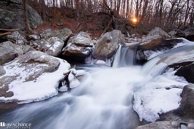 Rock Creek Park sunset