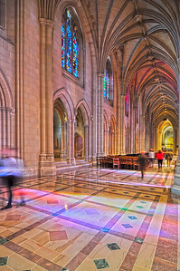 interior of a national cathedral gothic classic architecture