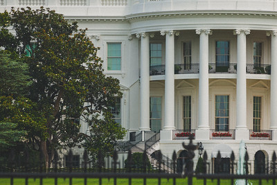White House Partial View