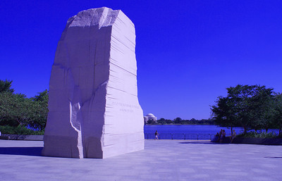 The Martin Luther King, Jr. Memorial (looking toward the Jefferson Memorial)