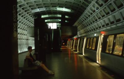 Subway Station  Washington, D C